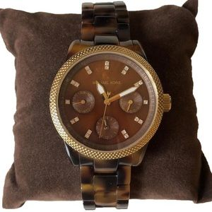 Michael Kors Women's Tortoise Watch